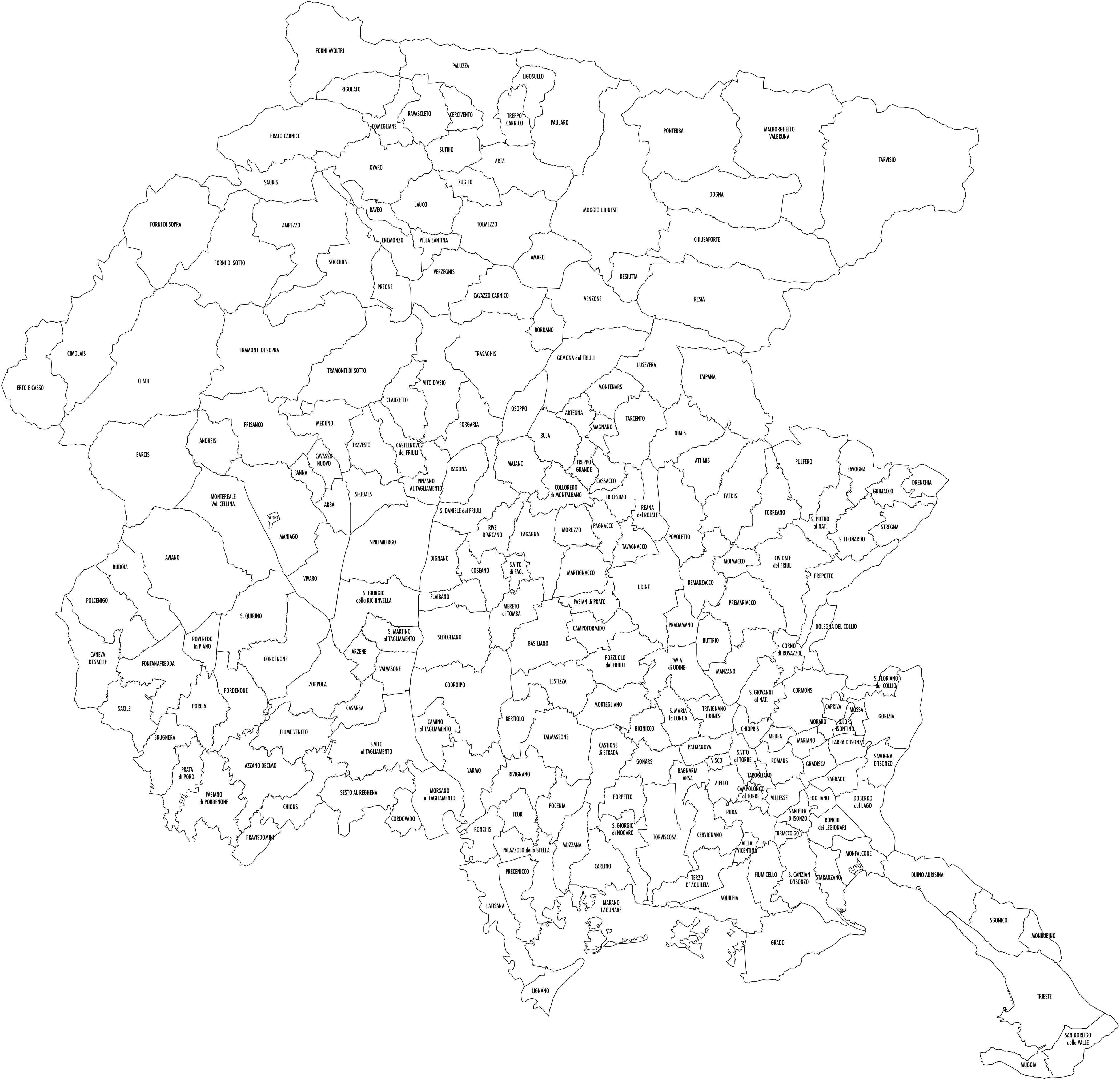 Regione Friuli Venezia Giulia Cartina.Area Riservata Commercialisti E Consulenti Del Lavoro Assomicroimprese
