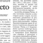 immagine dell'articolo de Il Gazzettino 19 aprile 2011 parte 2 di 2